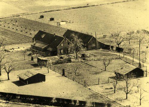 Luchtfoto Schans huis P Mussen