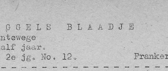 Roggels Blaadje 20-08-1952