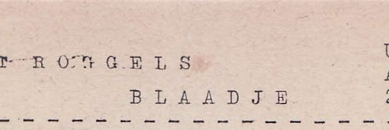 Roggels Blaadje 14-03-1953